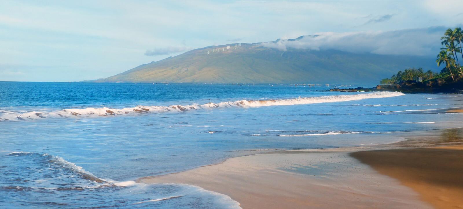 hawaii beach image with waves